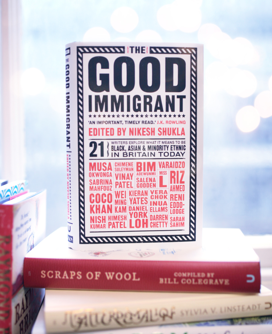 A picture of The Good Immigrant book cover